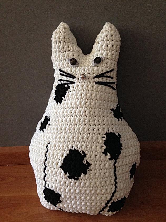 Gehaakte Katpoes Handmade Bij At Jufsas Met Patroon Free Pattern Cat
