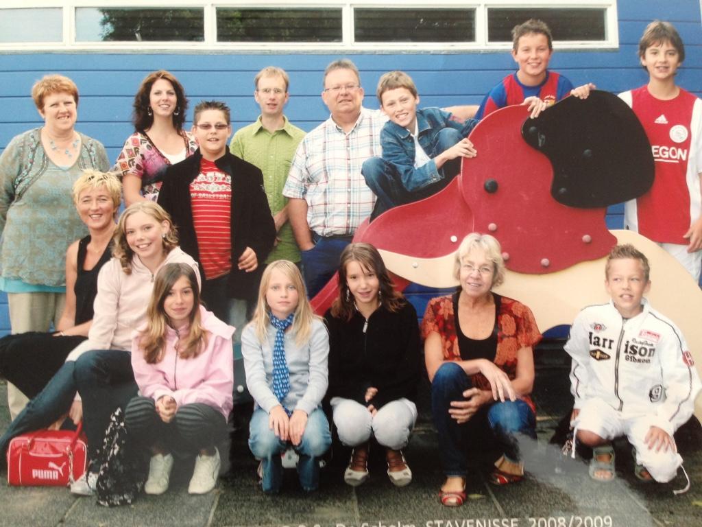 Groep 8 2008/2009