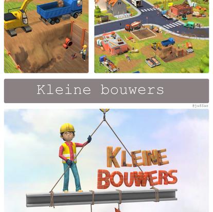 De app kleine bouwers