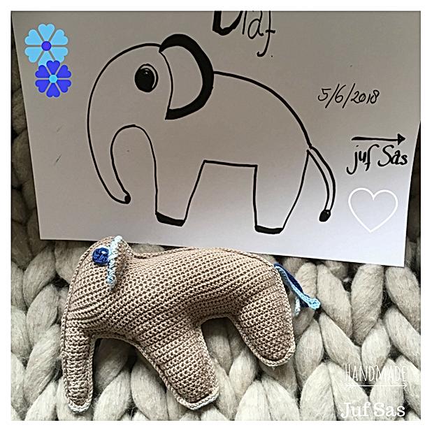 Olaf De Olifant Handmade By Juf Sas Met Gratis Patroon Creatief