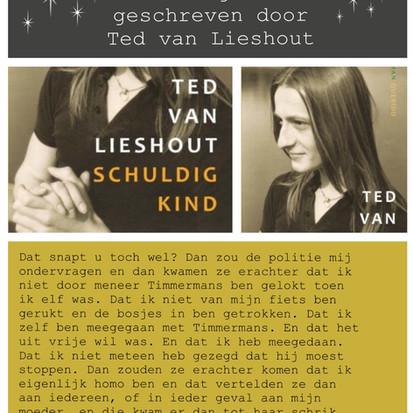 Boekquote uit 'Schuldig kind' geschreven door Ted van Lieshout
