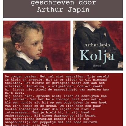 Boekquote uit 'Kolja' geschreven door Arthur Japin