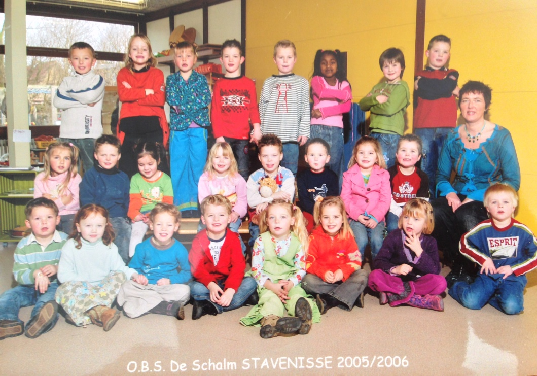 Groep 1/2 De Schalm 2005/2006