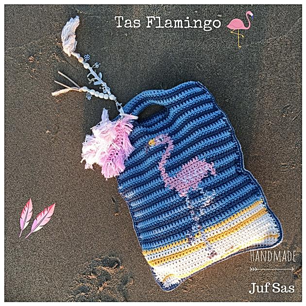 Tas Flamingo Handmade By Juf Sas Met Gratis Patroon Creatief