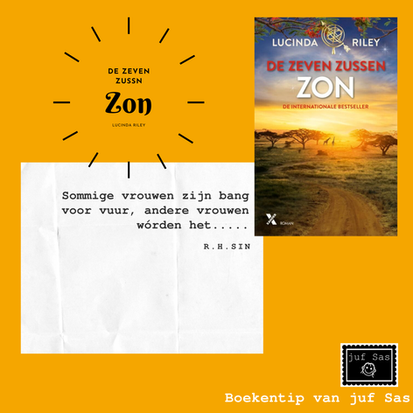 Boekentip Zon, zesde deel van De zeven zussen geschreven door Lucinda Riley