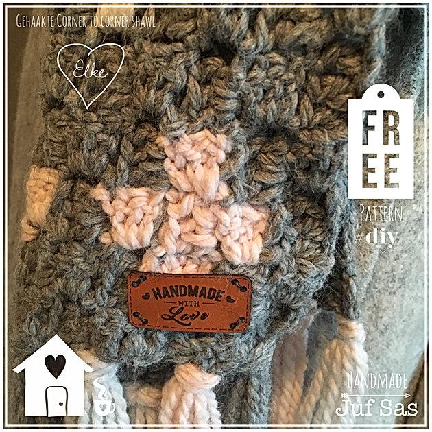 Shawl Elke Handmade By Juf Sas Met Gratis Patroon Creatief