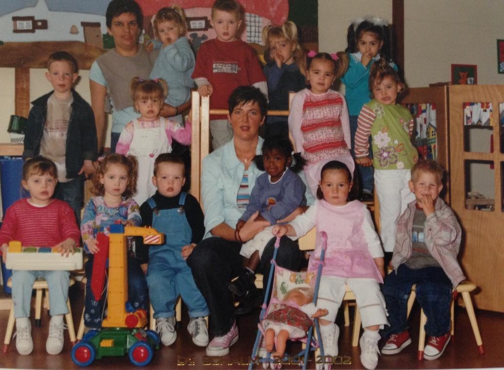 Peuterspeelzaal 2001/2002