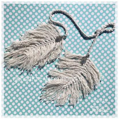 Verenhanger handmade by juf Sas met gratis patroon