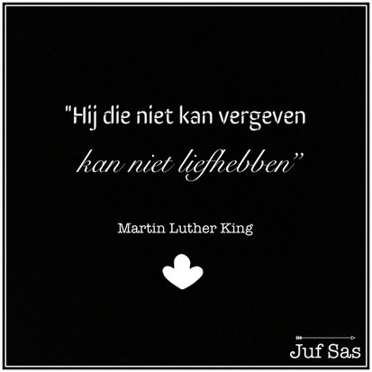 Quote van de week van Martin Luther King