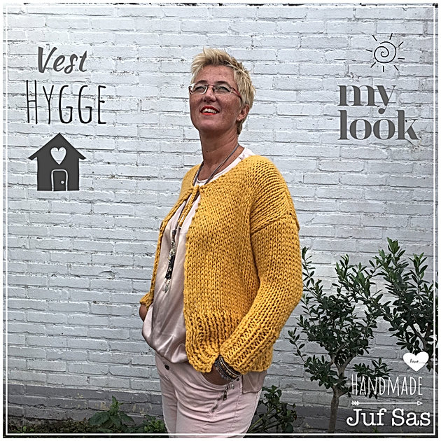 Vest Hygge Handmade By Juf Sas Met Gratis Patroon Creatief