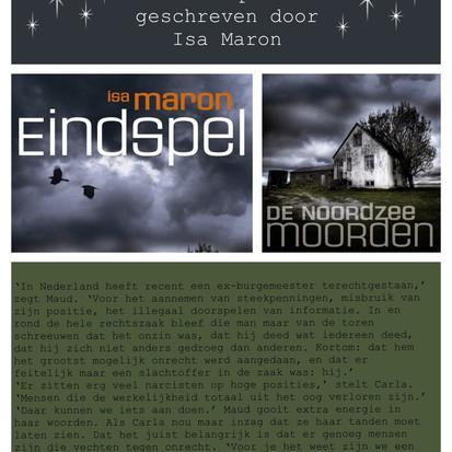 Boekquote uit 'Eindspel' geschreven door Isa Maron