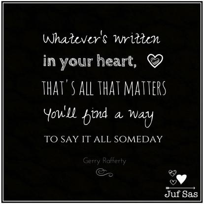 Quote van de week van Gerry Rafferty