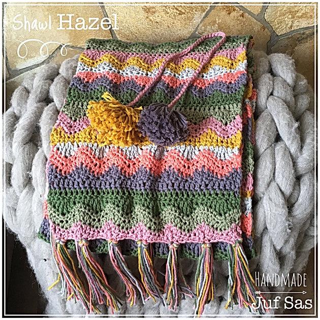 Shawl Hazel Handmade By Juf Sas Met Gratis Patroon Creatief