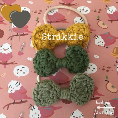 Strikkie handmade by juf Sas met gratis patroon