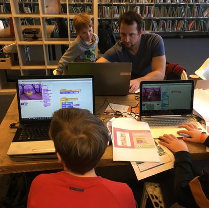 CoderDojo Goes, elke tweede zaterdag van de maand in Bibliotheek Goes