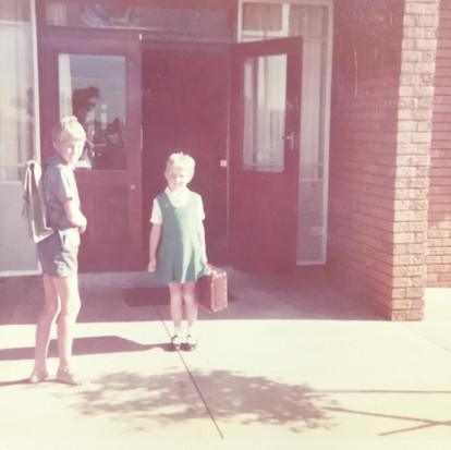 Mijn eerste schoolkoffertje
