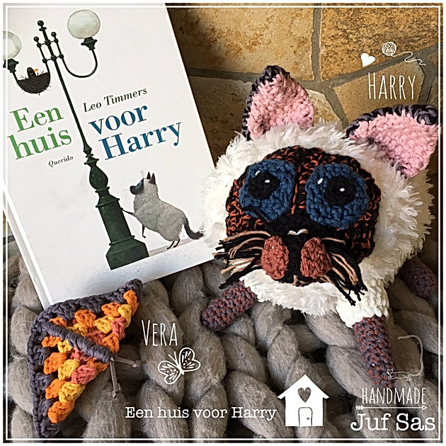 Harry Poes Uit Het Boek Een Huis Voor Harry Handmade By Juf Sas