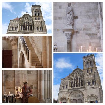 Maria Magdalena en Les éléments in Vézelay