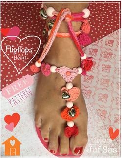 Flipflops Heart