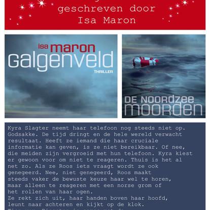 Boekquote uit 'Galgenveld' geschreven door Isa Maron