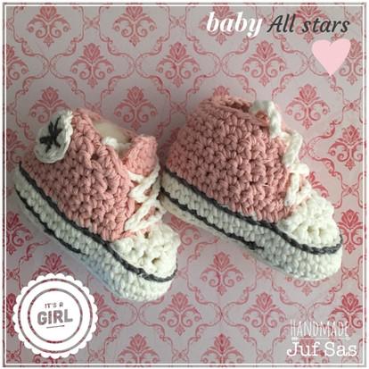 Baby All Stars handmade by juf Sas met gratis haakpatroon
