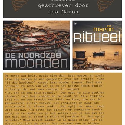 Boekquote uit 'Ritueel' geschreven door Isa Maron