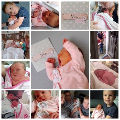 Een kleindochter, de eerste week