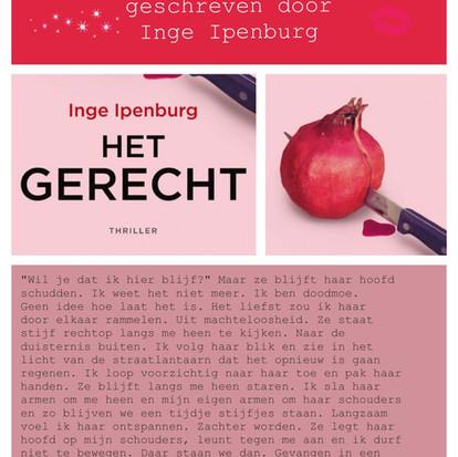 Boekquote uit 'Het gerecht' geschreven door Inge Ipenburg