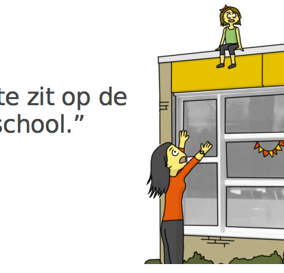 Zichtbaar Nederlands, visuele grammatica van het Nederlands