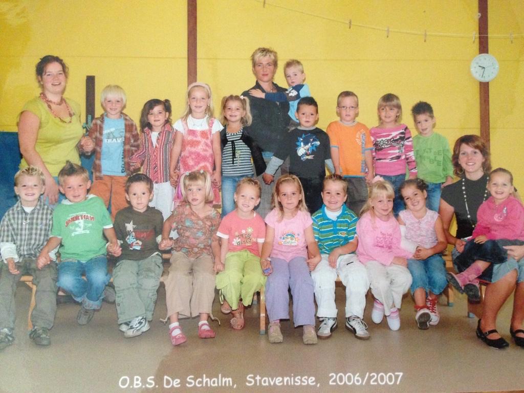 Groep 1/2 De Schalm 2006/2007