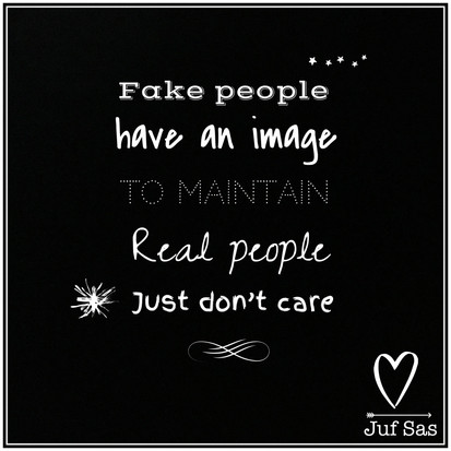 Quote van de week over Fake people