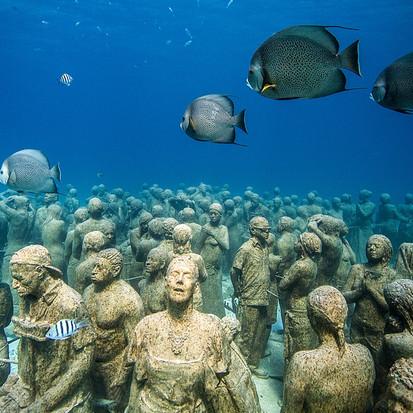 Een museum onder water, beelden van Jason de Caires Taylor