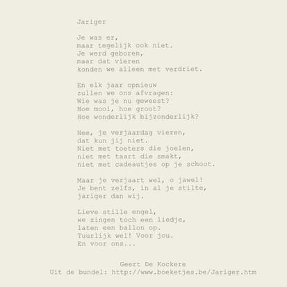 Levi 23 juni 2011, gedicht jariger
