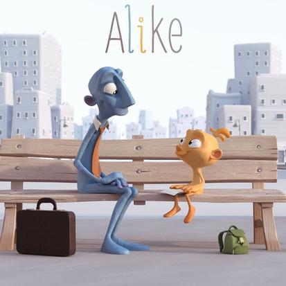 Alike, korte film over een vader en zijn zoon