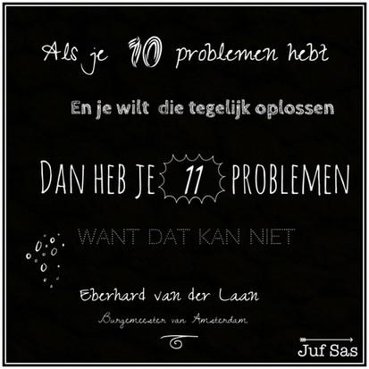 Quote van de week over problemen van Eberhard van der Laan