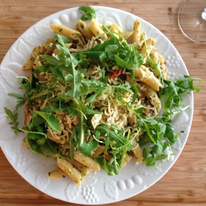 Mijn eerste vlog: zelf groene pesto maken