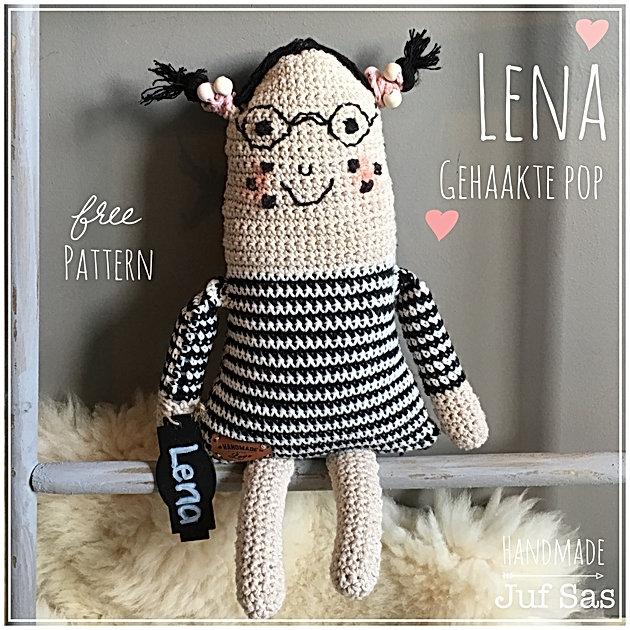 Gehaakte Pop Lena Handmade By Juf Sas Met Gratis Patroon Creatief