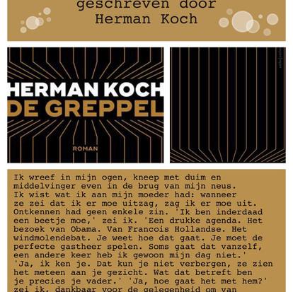 Boekquote uit 'De greppel' geschreven door Herman Koch