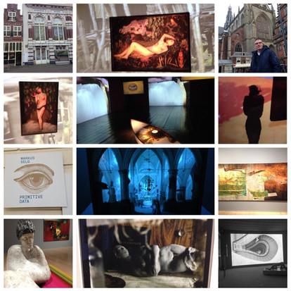 Markus Selg in de Hallen in Haarlem