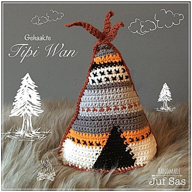 Gehaakte Tipi Wan Handmade By Juf Sas Met Gratis Patroon Creatief