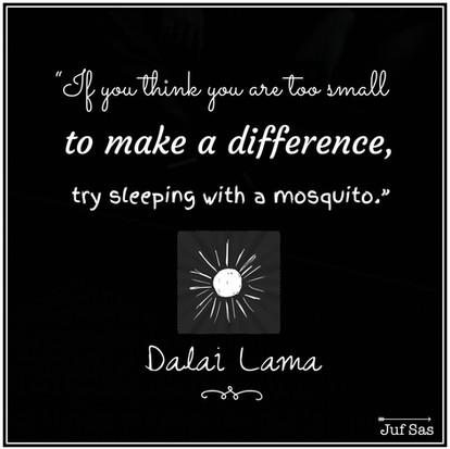Quote van de week van de Dalai Lama