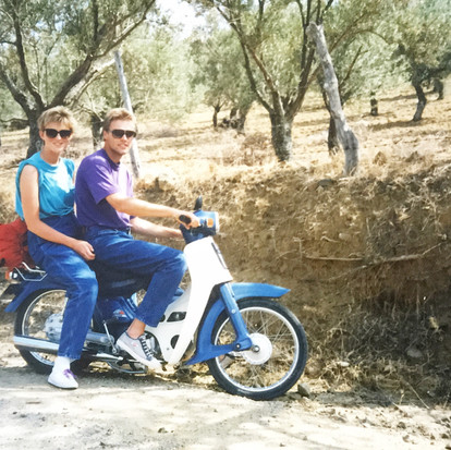 Throwback Thursday vakantie in Lesbos 1989