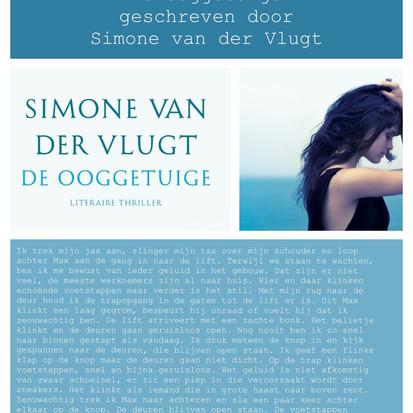 Boekquote uit 'De ooggetuige' geschreven door Simone van der Vlugt