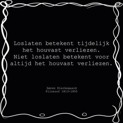 Quote van de week van filosoof Søren Kierkegaard