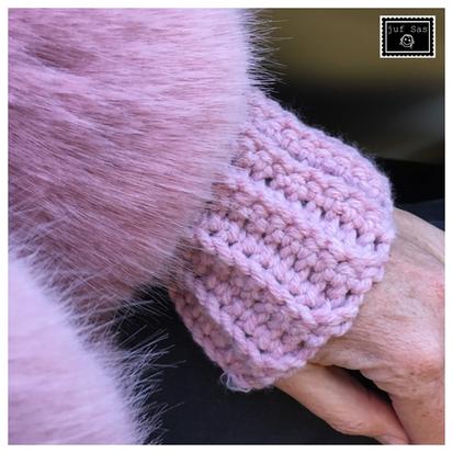 Hoe haak je een boord voor een trui of vest, uitleg van  juf Sas
