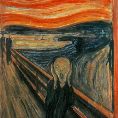 Le Cri/De schreeuw van Edvard Munch