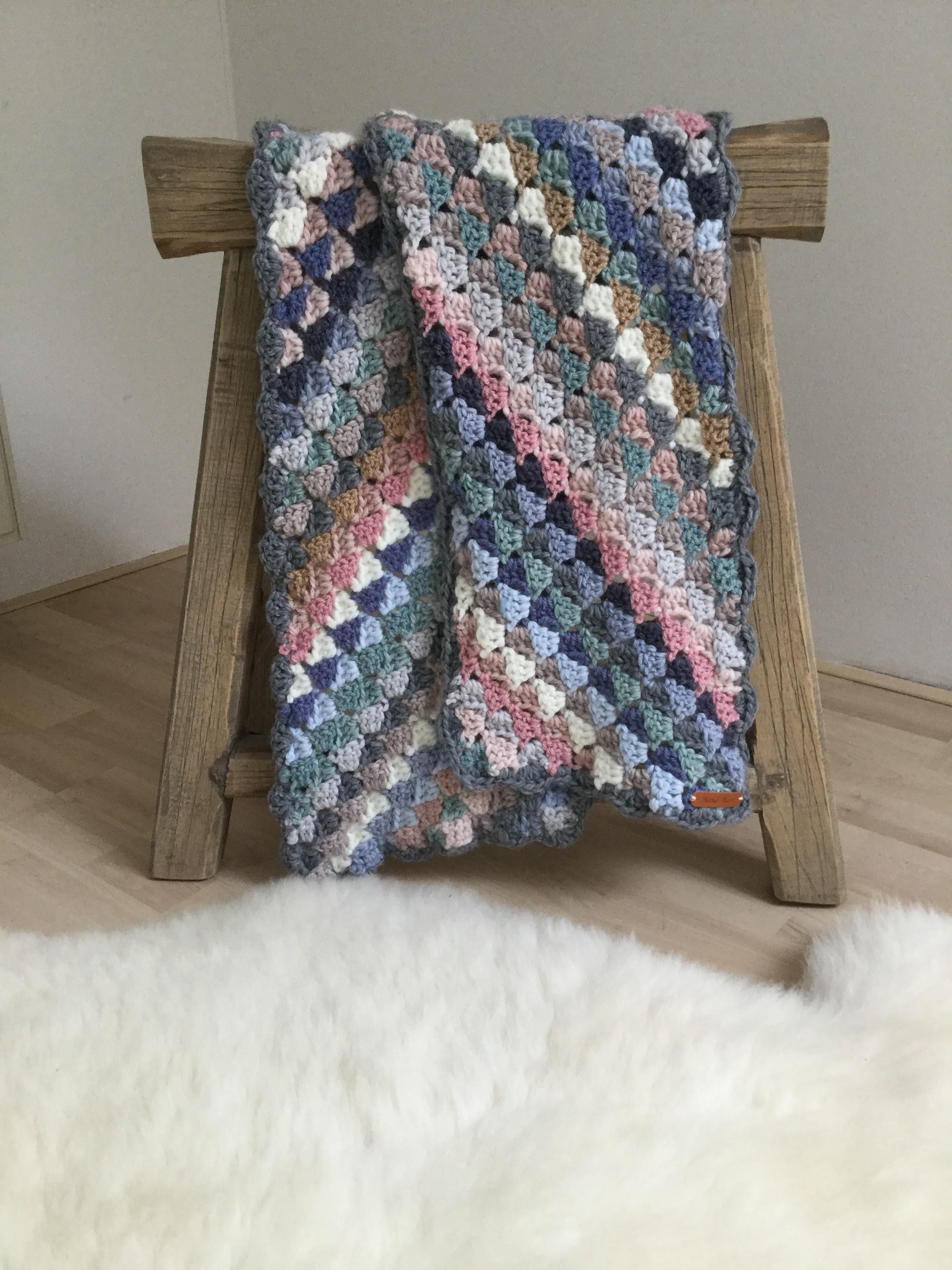 Corner to corner shawl