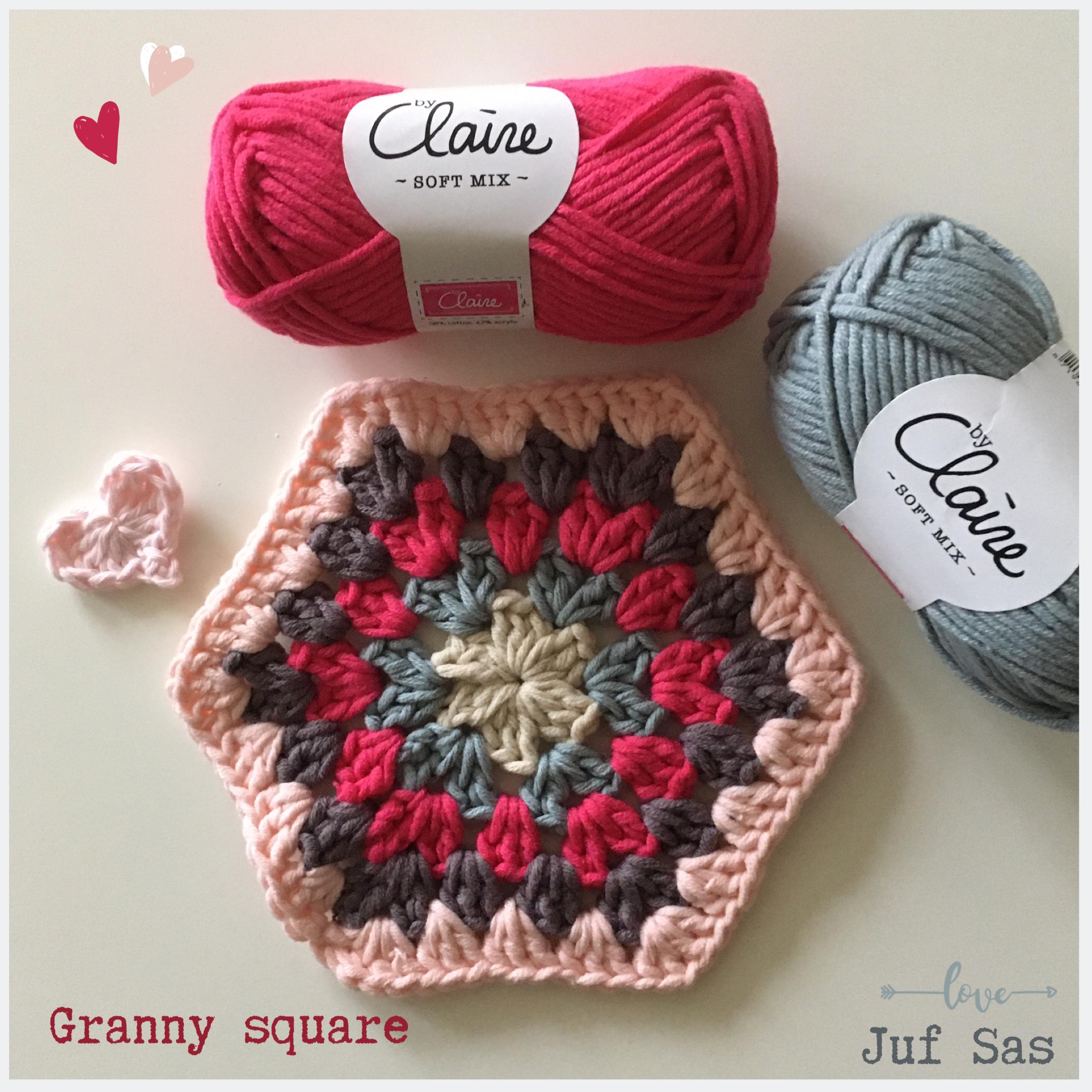 Zeshoekige granny square