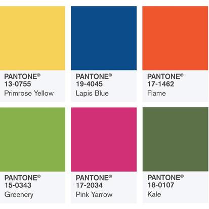 De kleuren van het voorjaar 2017