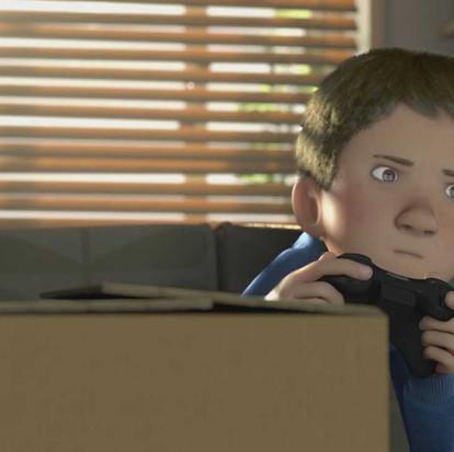 The present korte animatiefilm 'een liefdesverklaring aan het leven'